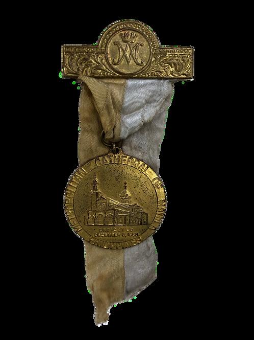 Medalla de la Catedral Metropolitana de Manila, Filipinas