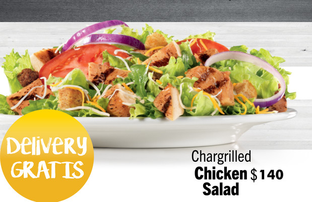 Charbroiled Chicken Salad