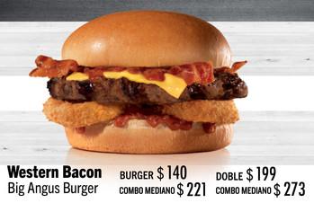 Western Bacon Big Angus Burger
