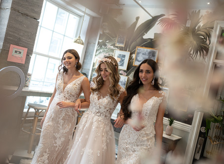 CHÂTEAU NADIA, a unique and modern wedding dress boutique located in the heart of Montreal