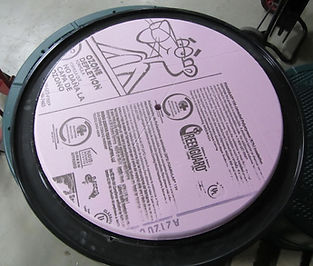 insulated septic tank pump chamber lid cover