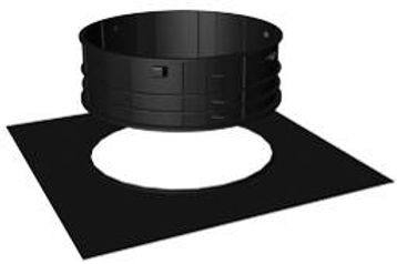septic tank riser and adapter ring