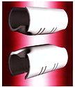 orifice shields for pressurized effluent discharge laterals