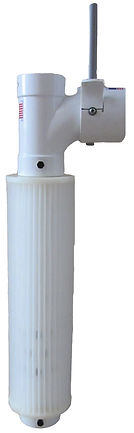 pleated gravity effluent septic tank filter