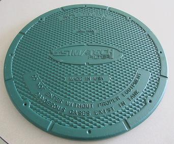 heavy duty plastic tank lid