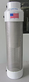 stainless steel version of the no-vault turbine effunt pump filter
