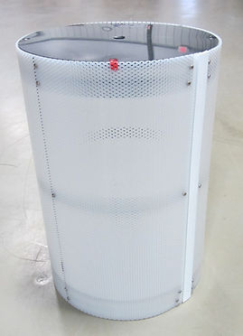 short pump screen basket with lid
