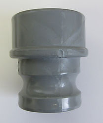 pvc cam and groove cam coupling male fitting