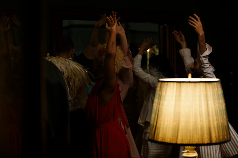 A midnight ceremony