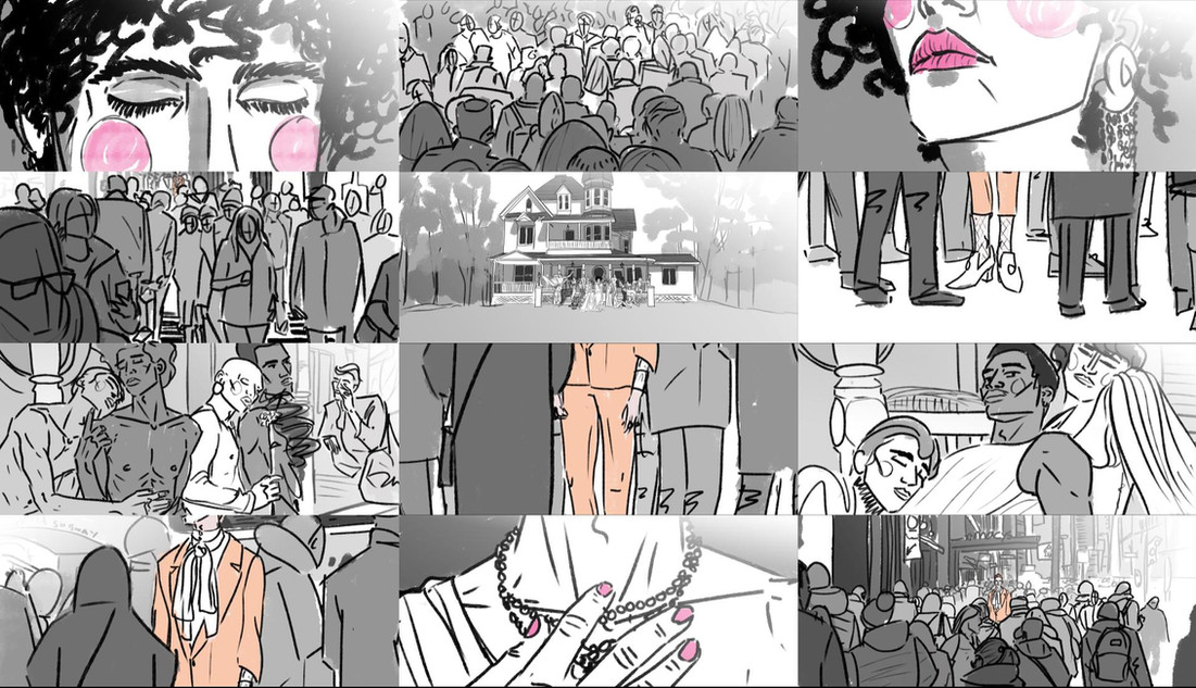 CousinJohn - The Arrival - Storyboard_01