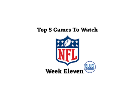 Top 5 NFL Games To Watch - Week 11