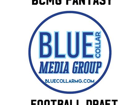BCMG Fantasy Football Draft