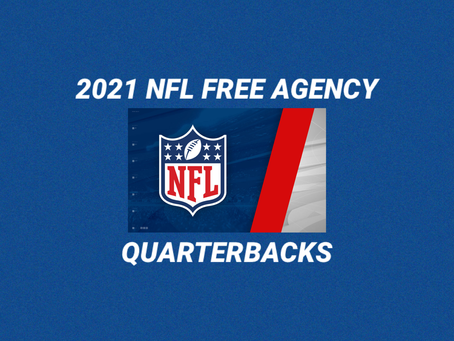 2021 NFL Free Agency: Quarterbacks