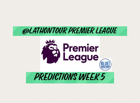 Premier League Predictions -Week 5