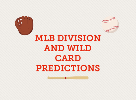 MLB Division and Wild Card Predictions