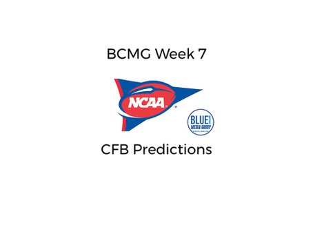 BCMG Week 7 Predictions