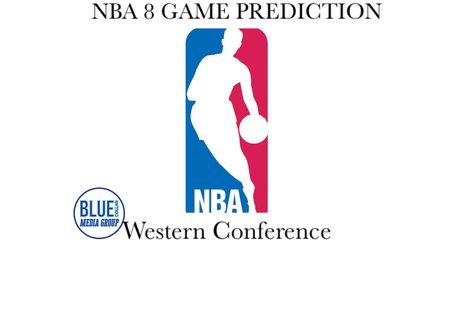 NBA 8 Game Prediction: Western Conference