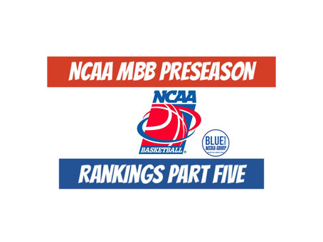 NCAA MBB Preseason Rankings Part Five