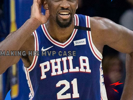 Joel Embiid: Making his case for MVP