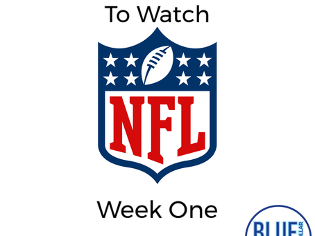 Top 5 Games To Watch - Week One