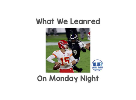 What We Learned On Monday Night