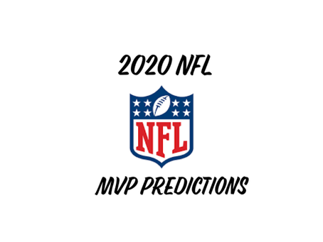2020 NFL MVP Predictions