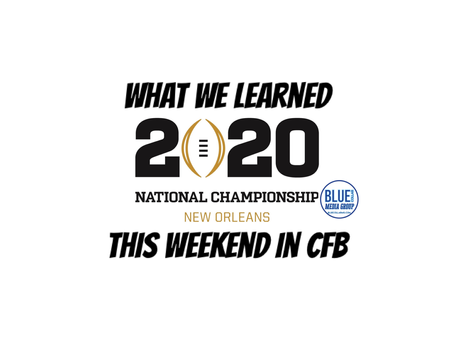 What We Learned This Weekend In CFB