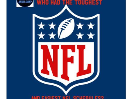 Ken's Easiest & Toughest NFL Schedules