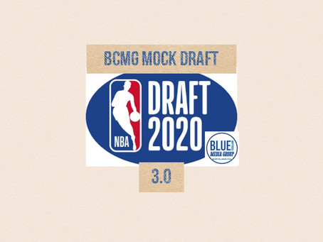 Mock Draft 3.0