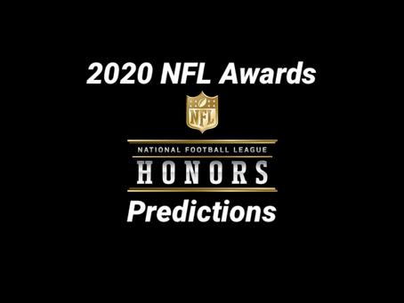 2020 NFL Award Predictions