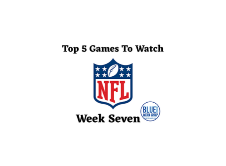 Top 5 Games To Watch - Week 7