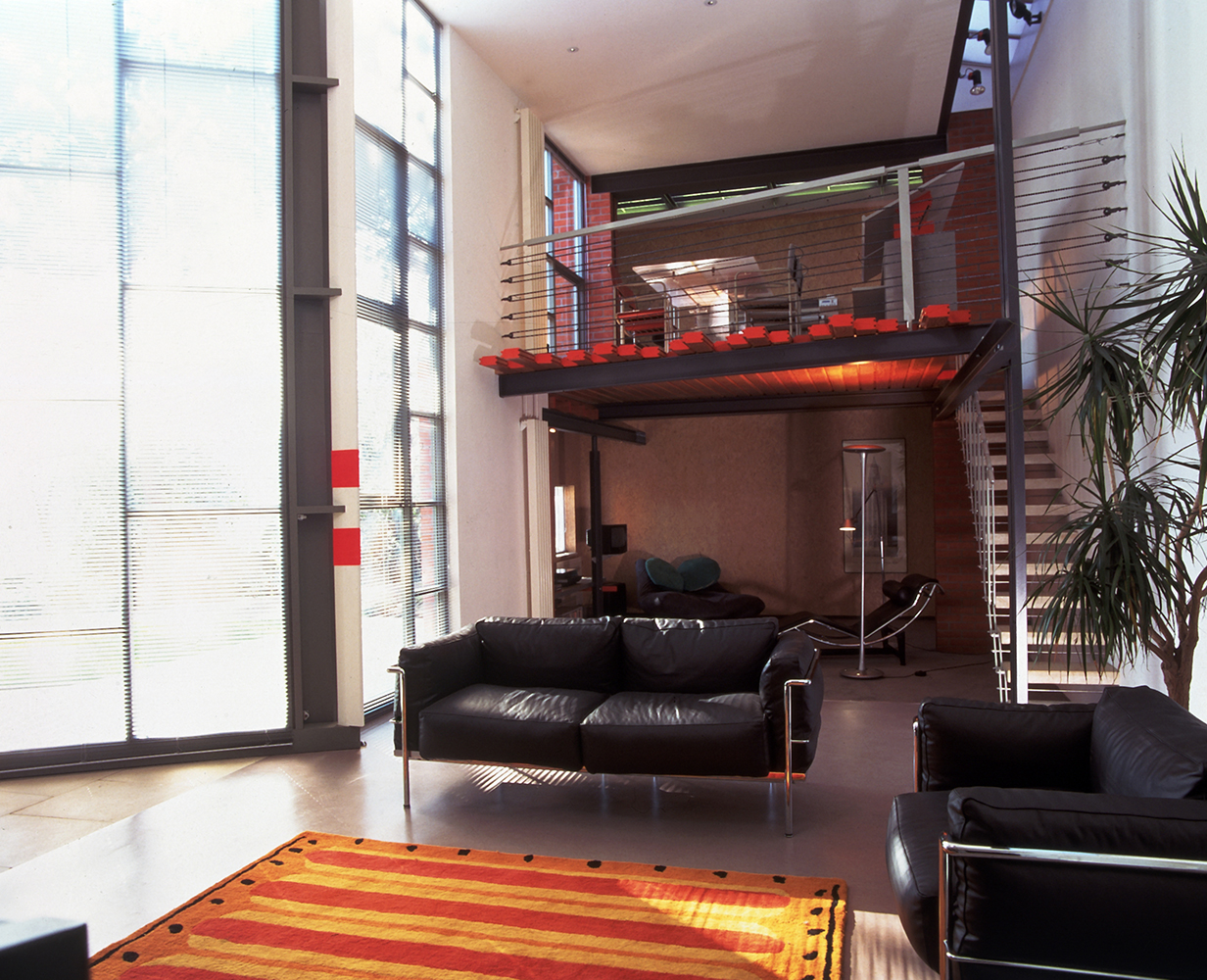 view of modern living room