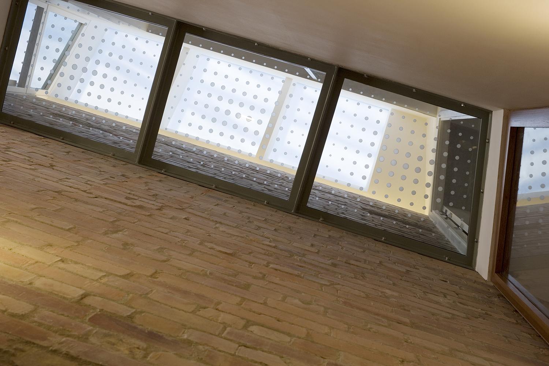 glass gantry walkway