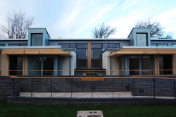 symmetrical building elevation