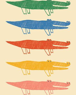 aligator illustration