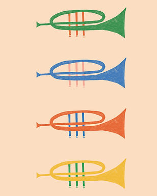 illustration trumpet