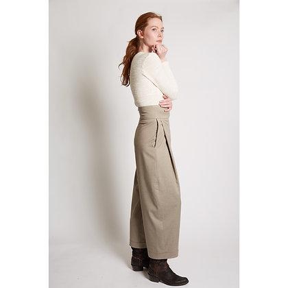 Pantalon à plis Léon