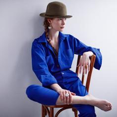 Combi bleue Clara