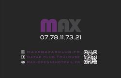 Carte de visite   LE BAZAR