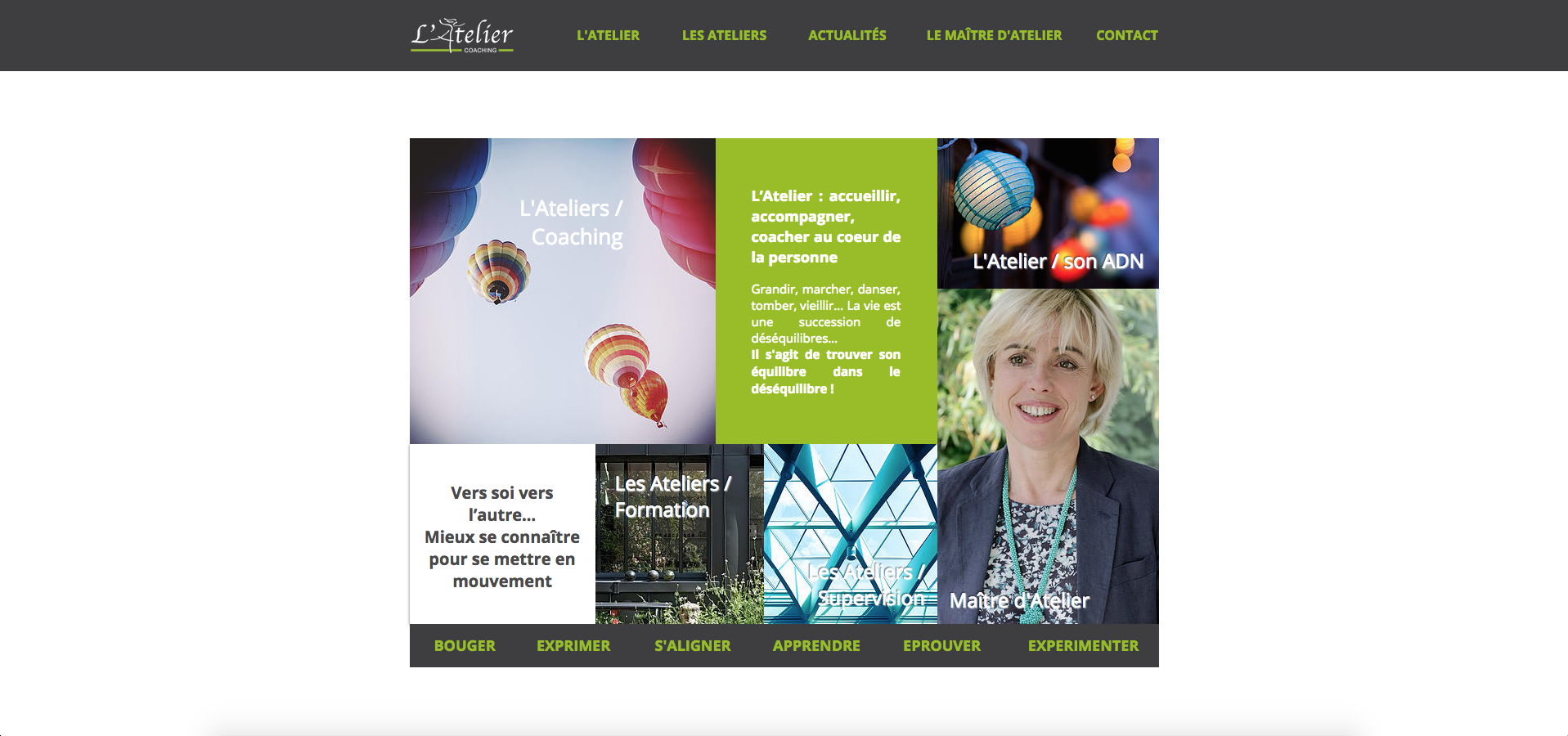 Site web | L'Atelier coaching