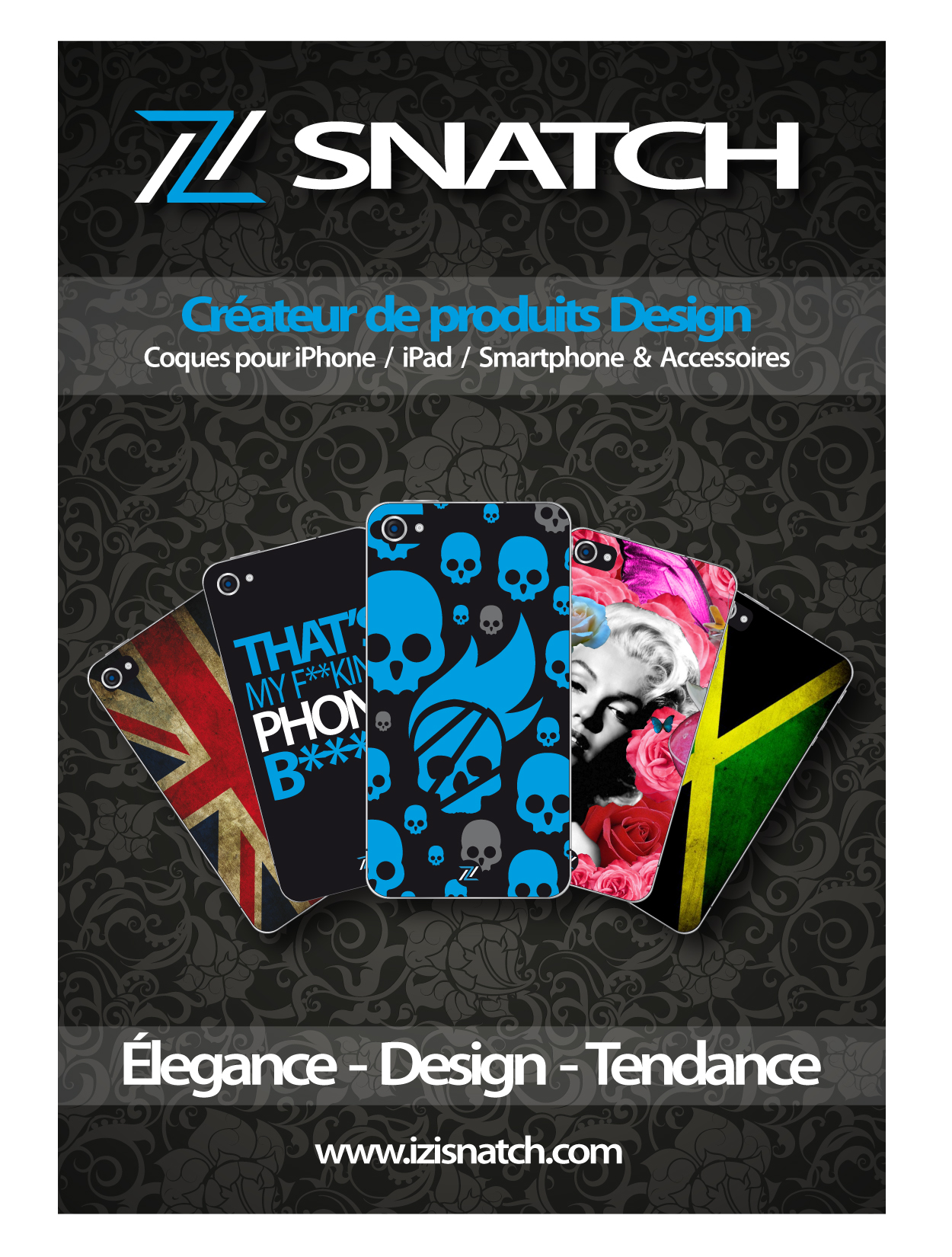 Flyer | IZI SNATCH