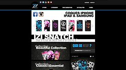 Site web (eCommerce) | IZI Snatch