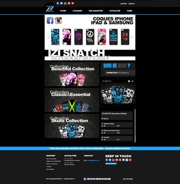 Site eCommerce | IZI Snatch