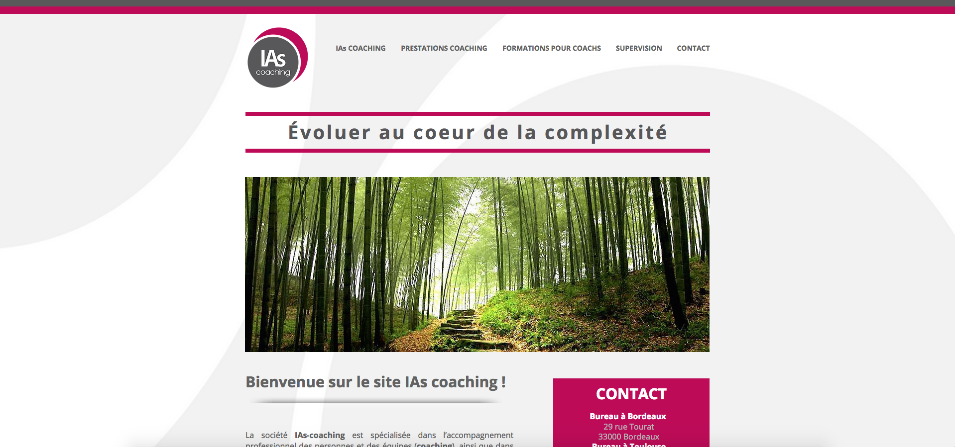 Site web | IAs COACHING