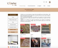 Boutique en Ligne | L'Atelier du Lin
