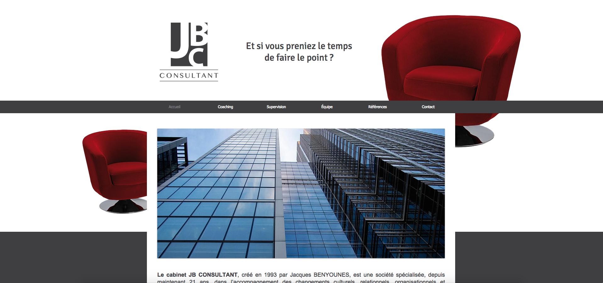 Site Web | JB Consultant