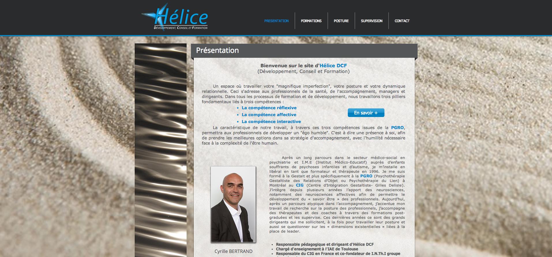 Site web | Hélice DCF