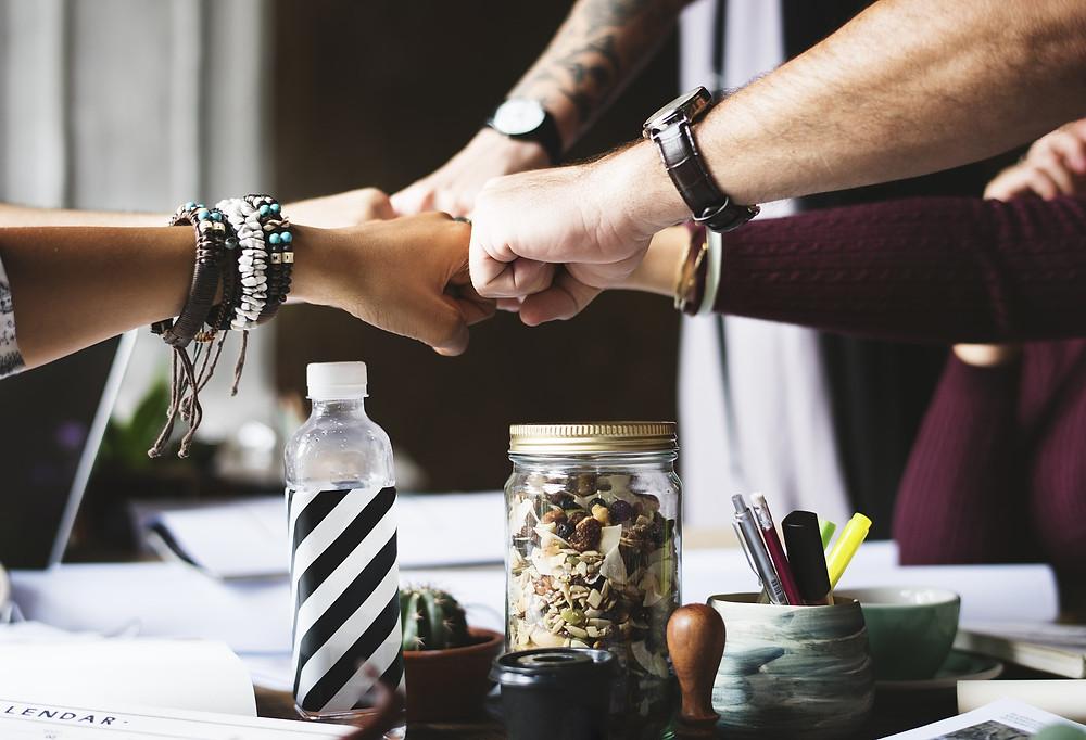 """image partie """"supervision et espace de lien"""", de l'article """"pourquoi faut-il une supervision même quand on a pas de client?"""" - Blog IAs Coaching"""