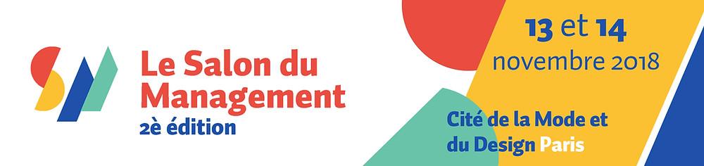 image de présentation de l'événement : le salon du management, à paris les 13 et 14 novembre 2018