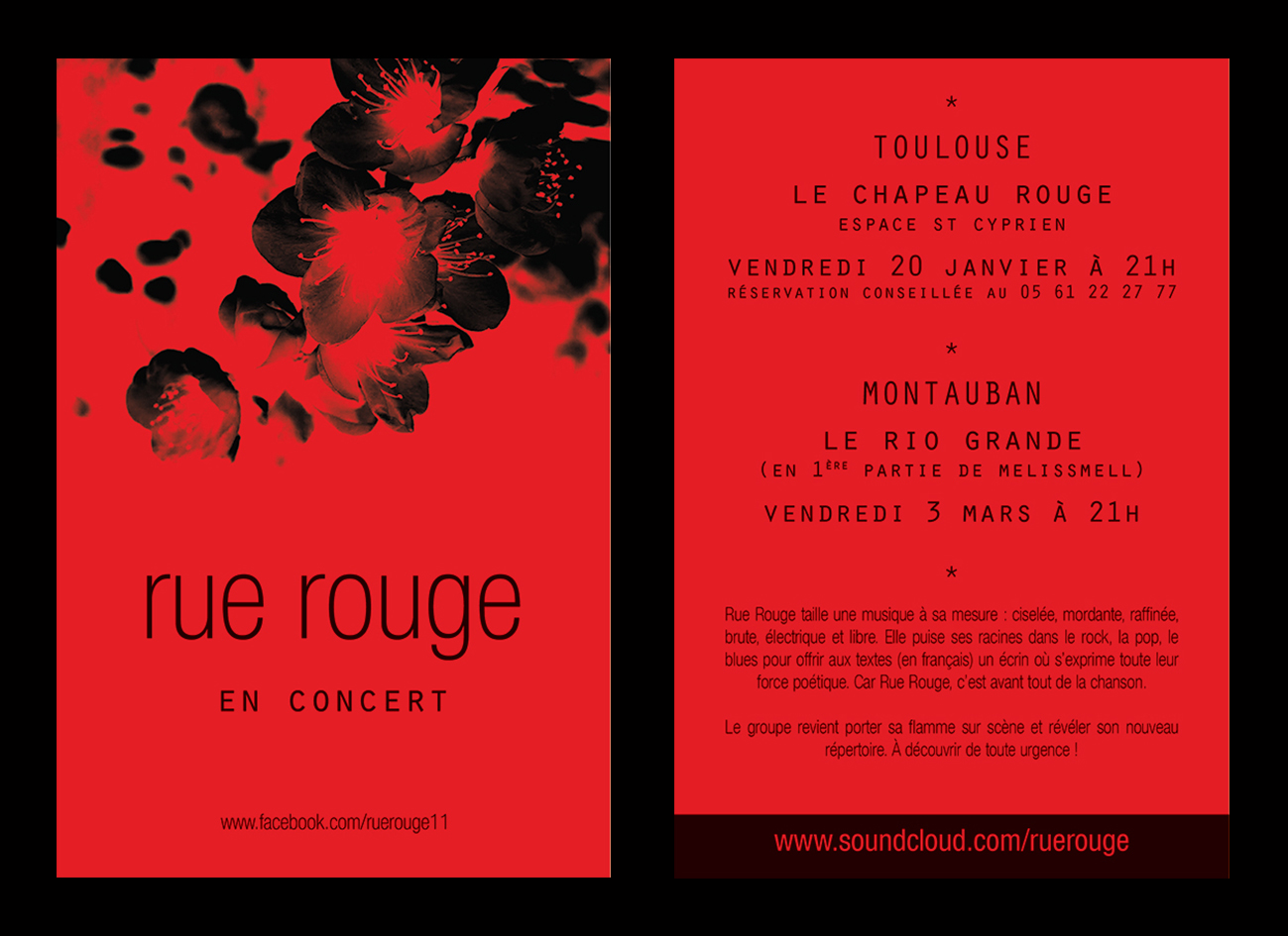 flyer | rue rouge
